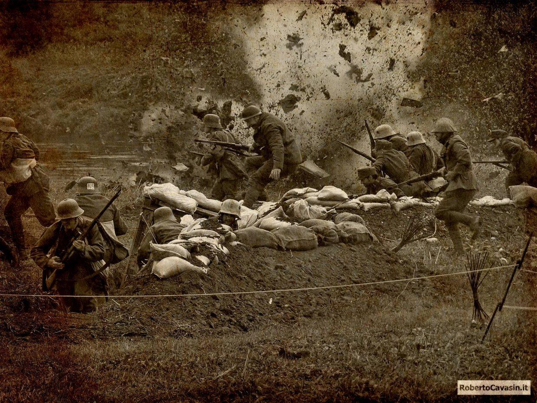 Rievocazione storica della Battaglia del Monticano del 1917