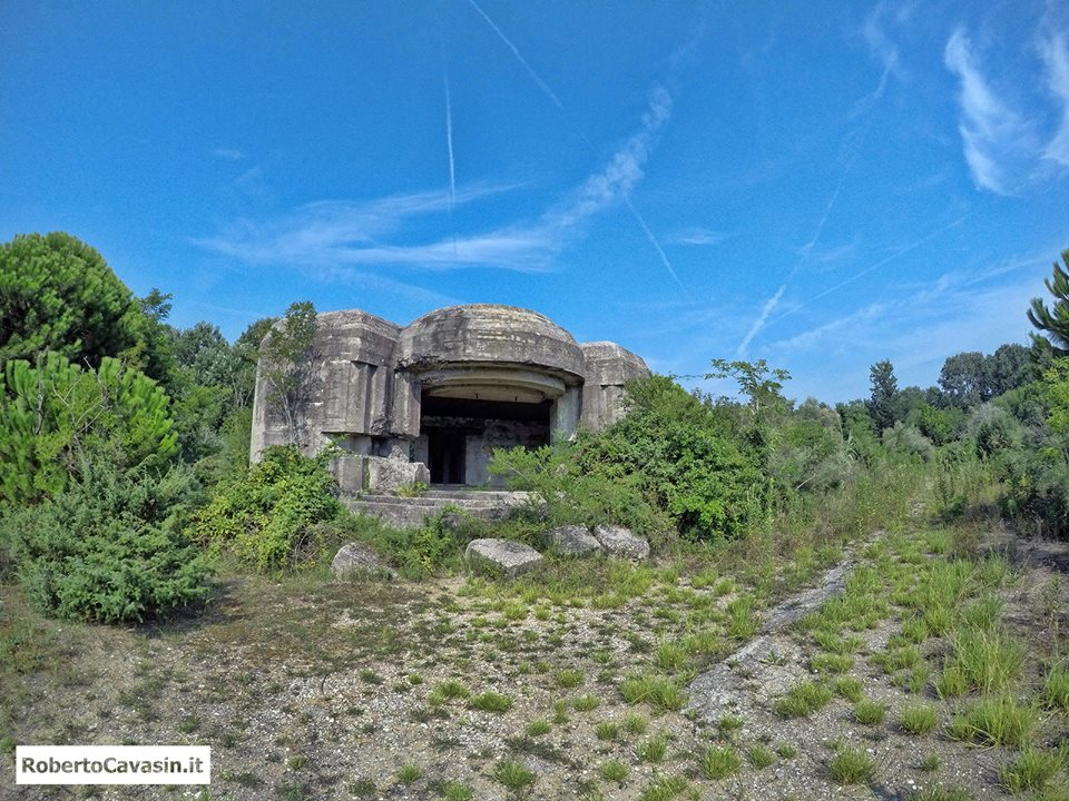 Fortificazioni e Bunker a Caroman (Pellestrina - VE)