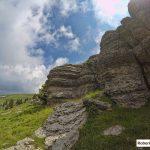 Città di roccia sul monte Fior