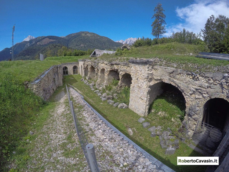 Forte Monte Ricco - Pieve di Cadore (BL)