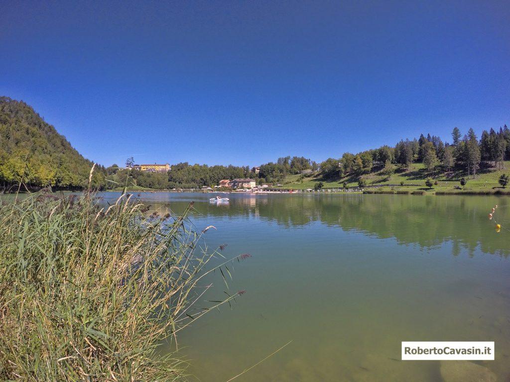 Lago di Lavarone, una perla tra i Monti dell'Alpe Cimbra